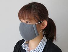 接触冷感マスク(メッシュ立体タイプ)