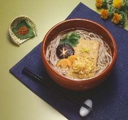太鼓判 日本そばミニダブル